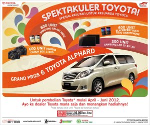 Program Toyota spektakuler 2012
