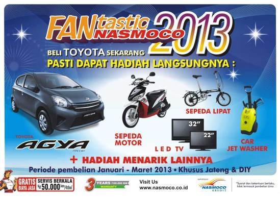 Promo Toyota Semarang 2013