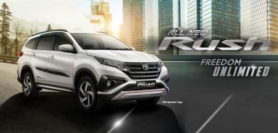 Harga Toyota All New Rush TRD 2017 Semarang